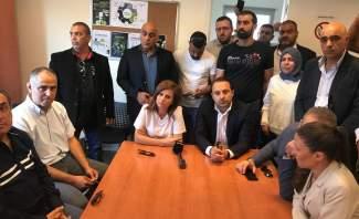 بستاني جالت على ضفاف الليطاني: العمل جار لاعادة تشغيل محطات التكرير