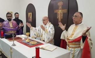 المطراندرويش ترأس رتبة سجدة الصليب في كاتدرائيةسيدة النجاة في زحلة