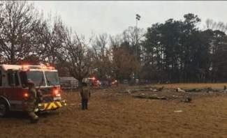 مقتل 4 أشخاص إثر تحطم طائرة خفيفة بملعب كرة قدم ببولاية جورجيا الأميركية