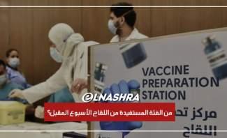 """ماذا قالت وزارة الصحة لتلفزيون النشرة حول موعد وصول لقاح """"آسترازينيكا"""""""