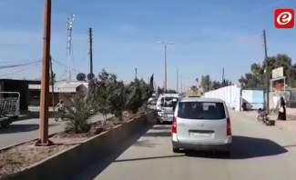النشرة: دوريات عسكرية أميركية من محيط بلدة رميلان باتجاه بلدة الجوادية في الحسكة