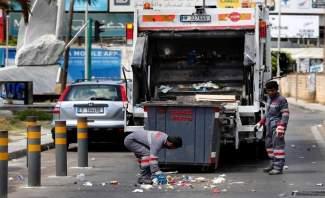 انفجار صندوق شاحنة رامكو لجمع النفايات في سوق الزلقا