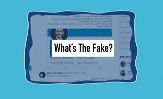 What's The Fake: استشارة نجل وزير المالية مقابل 30 مليون دولار