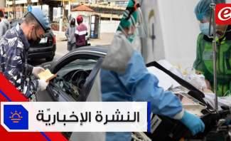 موجز الأخبار: 21 إصابة جديدة بكورونا وغرامة مالية على كل من لا يضع كمامة في الشارع