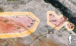 النشرة: وصول الجيش السوري الى نقطة تبعد 20 كلم عن دير الزور