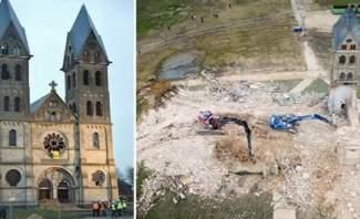 هدم كنيسة أثرية هامة في ألمانيا لتوسيع مناجم الفحم