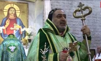 المطران سفر ترأس قداس الميلاد في كنيسة السيدة في زحلة: نأمل ولادة لبنان جديد