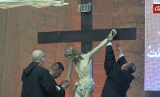 الأب بو رعد ترأس رتبة سجدة الصليب في كنيسة مار الياس – أنطلياس