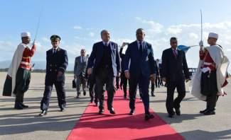 المشنوق وصل إلى الجزائر للمشاركة في مؤتمر وزراء الداخلية العرب