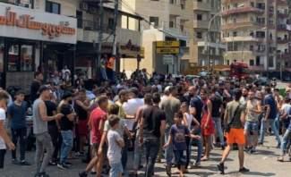 قطع سكة الشمال في جبل محسن وتدافع بين الجيش والمحتجين