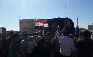 النشرة: البدء بتقديم المساعدات الانسانية للسوريين بخان شيخون