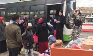 النشرة: الامن العام أنجز عودة 1335 نازحا من لبنان الى قراهم في سوريا