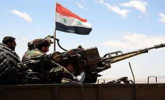 النشرة: مضادات الجيش السوري تتصدى لطائرات مسيرة فوق مطار حماة العسكري