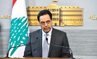 دياب: سقطت محاولة الانقلاب ولم تنجح كل العمليات السرية والعملية في الأروقة الداخلية لتعميق الأزمة