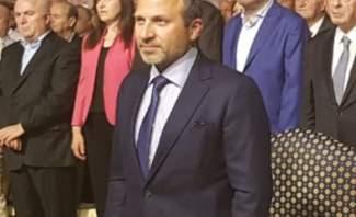 باسيل ممثلاً الرئيس عون: مهما اضعنا من الوقت ارادة اللبنانيين الشعبية ستحترم بالحكومة المقبلة