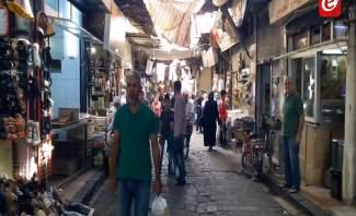 """جولة لتلفزيون """"النشرة"""" في اسواق دمشق... ارتفاع كبير للاسعار والسوريون يشتكون"""