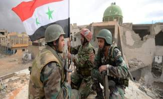 النشرة: الجيش السوري يعثر على ذخائر وأسلحة في ارياف حمص ودرعا ودمشق