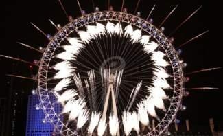 لندن تستقبل الـ2019 بعرض ألعاب نارية مبهر