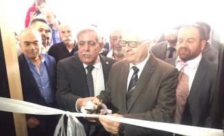 زاسبيكين افتتح المركز الثقافي الروسي في مجمع الفيصل التربوي في راشيا