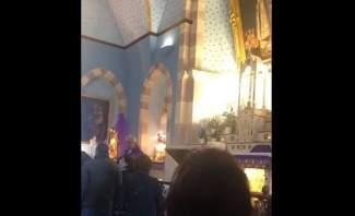 النشرة: إشكال في رعية مار زخيا بعجلتون بسبب المناولة والغاء القداس