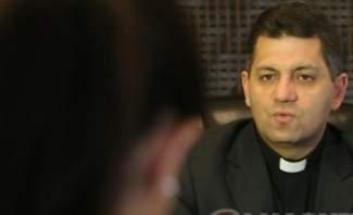 """الأب مروان غانم يتمنى عبر """"النشرة"""" دفع مستحقات الجمعيات قبل الأعياد"""