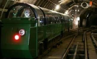 إنقاذ طفلة من الموت تحت عجلات القطار