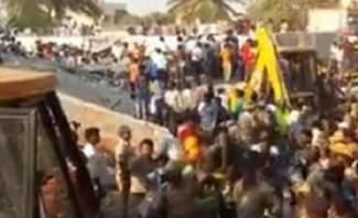 مقتل شخص ووجود 90 شخصا تحت الأنقاض جراء انهيار مبنى سكني بالهند
