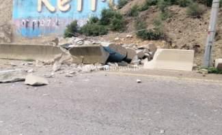 التحكم المروري: قطع الطريق داخل نفق شكا المسلك الغربي