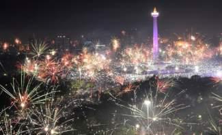 دول آسيوية بينها تايلاند وإندونيسيا تستقبل عام 2019