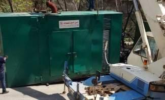 مراقبو مديرية حماية المستهلك صادروا مولدا كهربائيا في منطقة المريجة