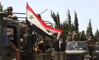 النشرة: 10 كلم تفصل الجيش السوري عن السيطرة على كامل خط فصل الاشتباك مع اسرائيل