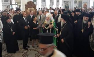 بطريرك صربيا بدأ زيارته الى دمشق بزيارة الكنيسة المريمية في باب شرقي