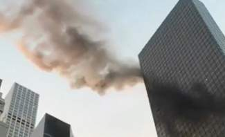 حريق في برج ترامب وسط مانهاتن بنيويورك