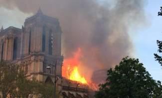 متحدث باسم إطفاء باريس: الساعة المقبلة ستكون حاسمة لتحديد إمكانية احتواء حريق الكاتدرائية