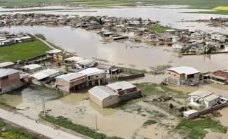 سيول وفيضانات تجتاح مناطق عدة في ايران