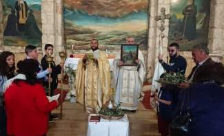النشرة: الطوائف المسيحية في بعلبك احتفلت بأحد الشعانين