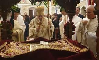 درويش ترأس رتبة جناز المسيح في كاتدرائية سيدة النجاة في زحلة