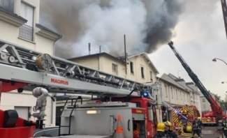 سبوتنيك: اندلاع حريق قرب قصر فرساي التاريخي في فرنسا