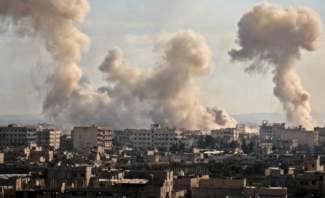 النشرة:المجموعات المسلحة بالغوطة واصلت قصفها على دمشق ما أدى لسقوط إصا