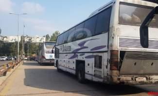 النشرة: وصول دفعة جديدة من النازحين السوريين الى معبر جديدة يابوس