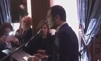 سفير لبنان في فرنسا أقام حفل استقبال لمناسبة اليوبيل الماسي للاستقلال