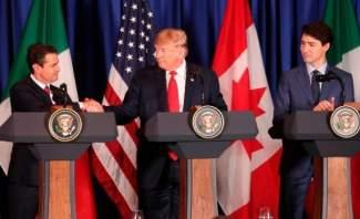 توقيع إتفاقية تبادل حر جديدة بين الولايات المتحدة وكندا والمكسيك