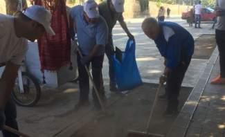 إطلاق حملة تنظيف مداخل قلعة بعلبك ومحيطها طيلة فترة مهرجانات بعلبك