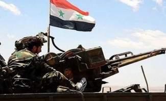 النشرة: اشتباكات بين جيش سوريا و