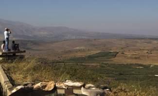 النشرة: حال من التوتر تسود المنطقة المحاذية لهضبة الجولان