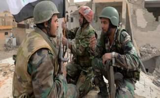 النشرة: الجيش السوري واصل عملياته على محور حزة بعمق الغوطة الشرقية