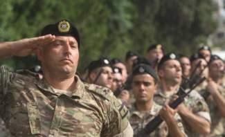 لبنانيون وسوريون يعترضون على اقفال الجيش أحد الجسور بحوش السيد علي