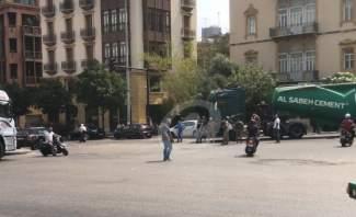 اعتصام لعمّال شركة الترابة الوطنية في وسط بيروت