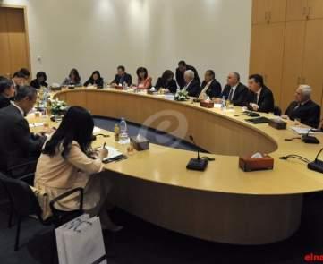لقاء اقتصادي لرجال الأعمال ومستثمرين صينيين ولبنانيين\n