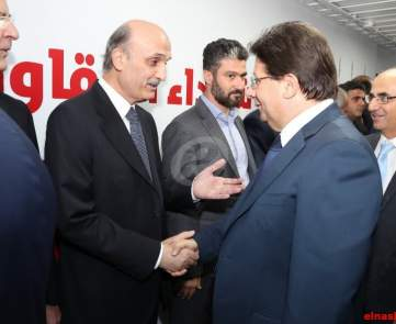 سمير جعجع وابراهيم كنعان
